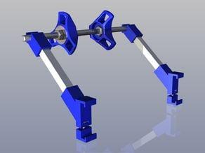 Prusa i3 Spool holder for 6mm frame