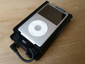 Case for iPod Classic and FiiO E12 Mont Blanc + wall mount