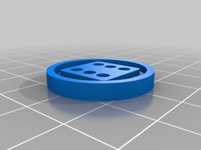 Blood Bowl Re-Roll Marker