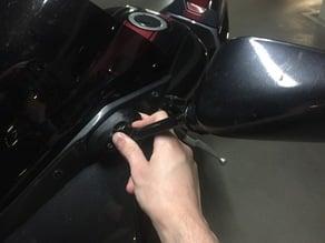 Mirror spacer/extender for Suzuki SV650