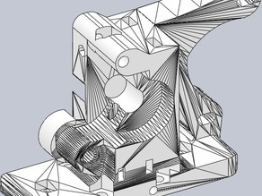 Compatible Guided Hinged Extruder