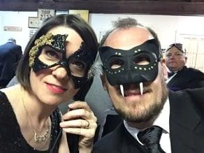Masquerade Panther Mask