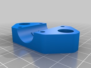 Remix Y_Carriage_Clamp_LM10UU_1.0 10mm X-axis to lock Igus bearing
