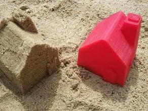 Sand mold: House