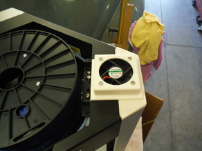 Extruder Exhaust Fan for Overlord Pro