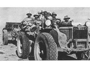 Trattore Pavesi P4 - 100 con ruote in gomma - tank