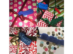 (aka Christmas Gift Tags) My Customized Multiline Tag or Keychain