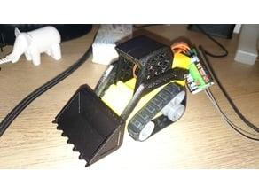 Mini Track Loader RC Micro Servo SG90 HXT900