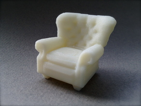 1:24 Oversized Armchair