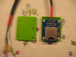 Housing for SD card reader from www.iteadstudio.com
