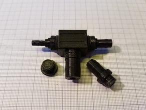 T-Piece hose Adapter kit 4, 6, 8, 10mm (hose/Schlauch inner/Innendurchmesser)