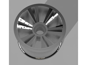 Rear Rim F104 for Differential - OpenRC F1