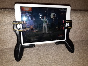 "iPad Air 2 Gaming Grips (4 Triggers, should fit 9.7"" tablets) PUBG, Fortnite"