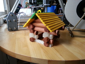 Old School Lincoln Logs