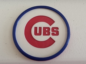 Chicago Cubs Coaster