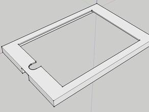 iPad mini frame - flashforge dreamer