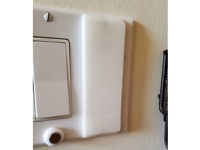 Magnetic Flat Style Light Switch Cover