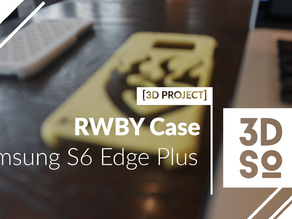 Samsung S6 Edge Plus - RWBY Case