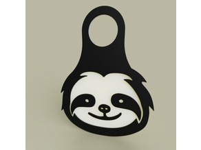 Lol - Sloth - KeyChain 2