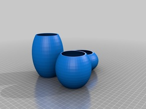 Decorative Vases Kit / Conjunto de Vasos Decorativos