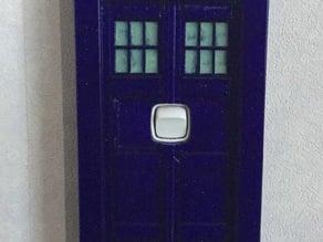 TARDIS Light switch cover (NZ)