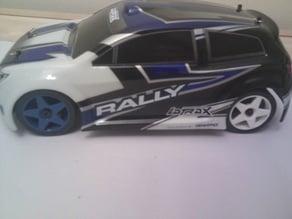 Latrax Rally drift wheels