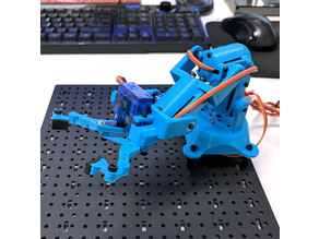 Snapper Mini - YA9GRA (Yet Another 9G Robot Arm)