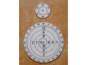 Benjamin Franklin clock dial