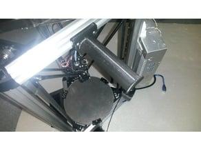 Filament Holder Wide (82mm spindel) for Kossel Mini