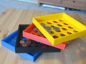 Coin Sorting Sieve
