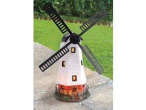 Garden Windmill Ornament - Broken Vane Sail Fix