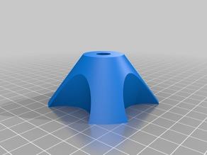 My Customized Parametric universal spool holder (bearing D 23, rod D 9)