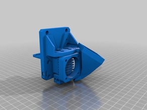 X Carriage mount for E3d Cyclops Hotend Prusa i3 Sunhokey