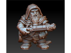 Dwarf rifleman (remastered)