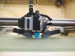 D-bot and Re-D-Bot linear rail. Titan Aero E3D Carriage Fan.
