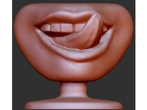 Human Licking Lips