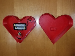 Animatronic Beating Heart Box