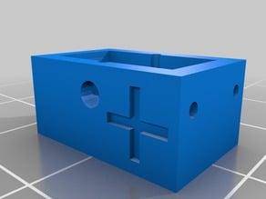 2x LR 54 button cell battery holder