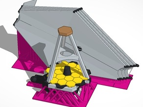 James Webb Space Telescope (Low Res Model)