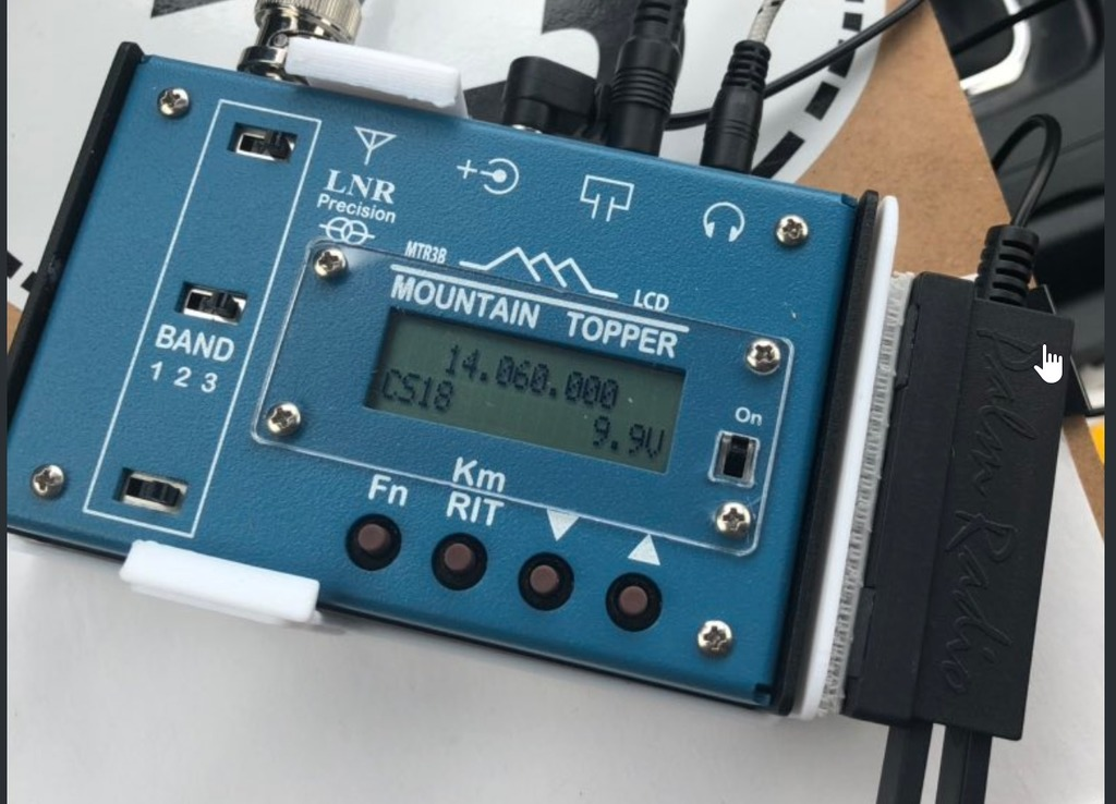 Protector for MTR3B Mountain Topper Ham Radio w  key support