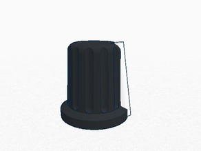 Rotatory knob for mixer (internal hole 6mm) - [Dual Extruder Ready]