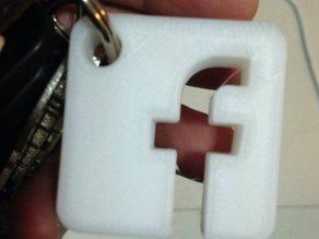 FB A key Ring