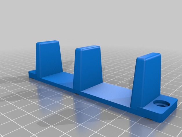 Sliding Closet Door Floor Guide By Hponstein Thingiverse