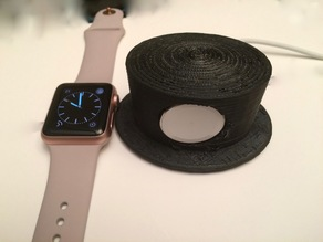 Hat-like charging dock for iWatch