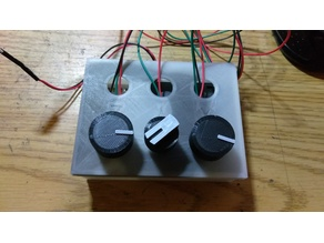Potentiometer Knobs - 20mm and 25mm
