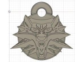 The Witcher Keychain
