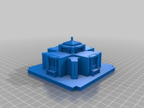 Cardston Temple Rework