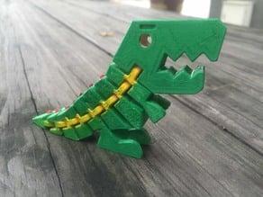 加強結構恐龍不容易摔倒