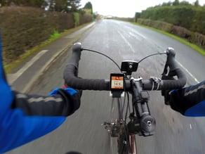 Smart Watch mount for bike