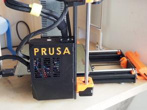 Embiggened, braced, reversed, Prusa Mk3 Einsy enclosure.